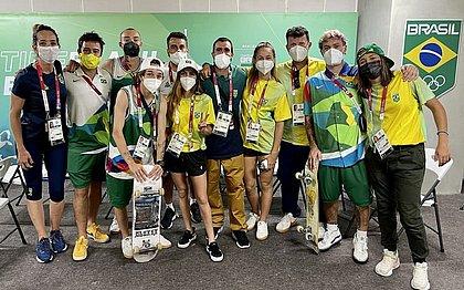 Seleção Brasileira Olímpica de Park já está na Vila Olímpica