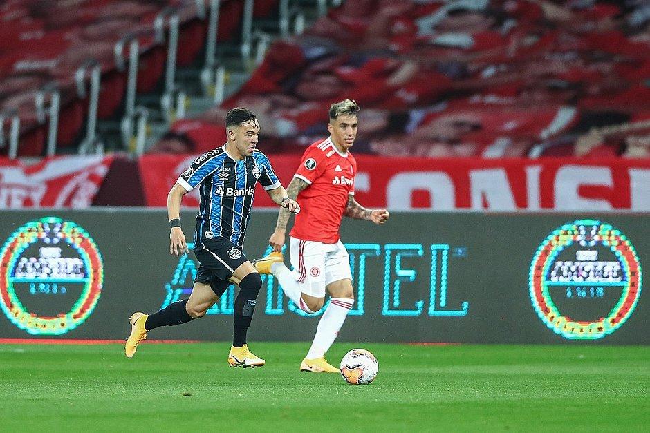 Pepê marcou o gol da vitória gremista no Beira-Rio