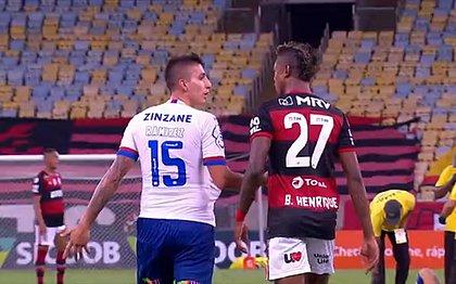 Laudo aponta discussão entre Ramírez e Bruno Henrique