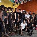 Jovens participaram da Seletiva Gandhy, no Mercado Iaô (Ribeira)