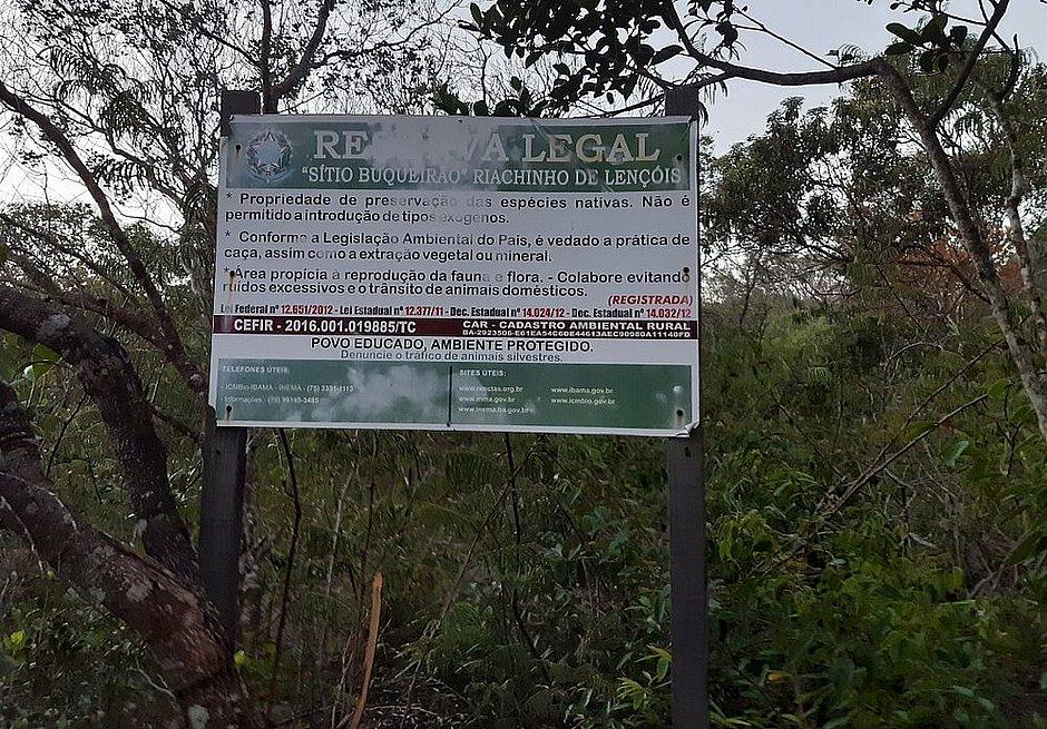 Petição virtual quer impedir retirada de área de preservação na Chapada Diamantina