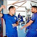 Guerra e Gilberto podem começar jogando contra o Atlético-MG, no Independência