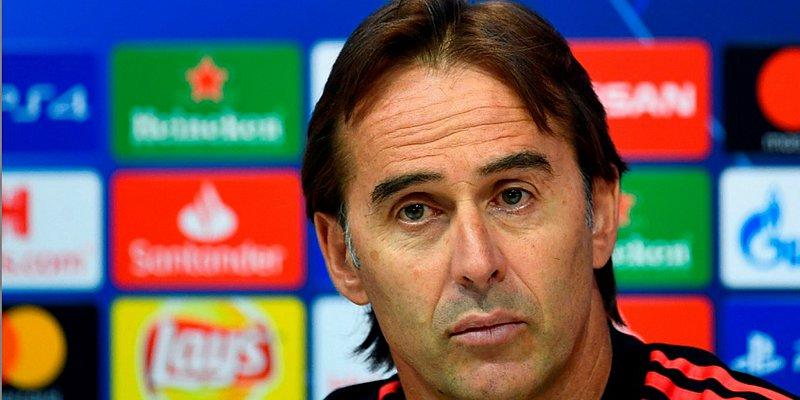 Ameaçado, Lopetegui diz estar tranquilo para dirigir Real na Liga