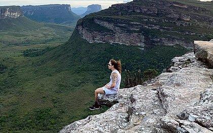 Whindersson posto foto 'em perigo' no Morro do Pai Inácio e grava em Lençóis