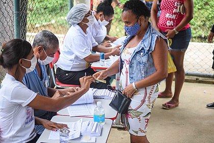 Mau tempo suspende vacinação contra covid-19 nas ilhas de Salvador