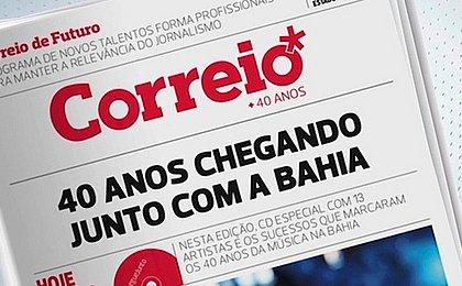 CORREIO tem edição especial histórica dos 40 anos