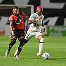 Santos foi derrotado pelo Atlético-GO na Vila Belmiro