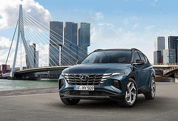 A Hyundai ousou no desenho da quarta geração do Tucson