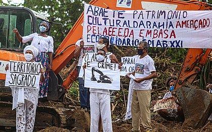 MP faz parecer favorável à construção de esgoto na Lagoa do Abaeté