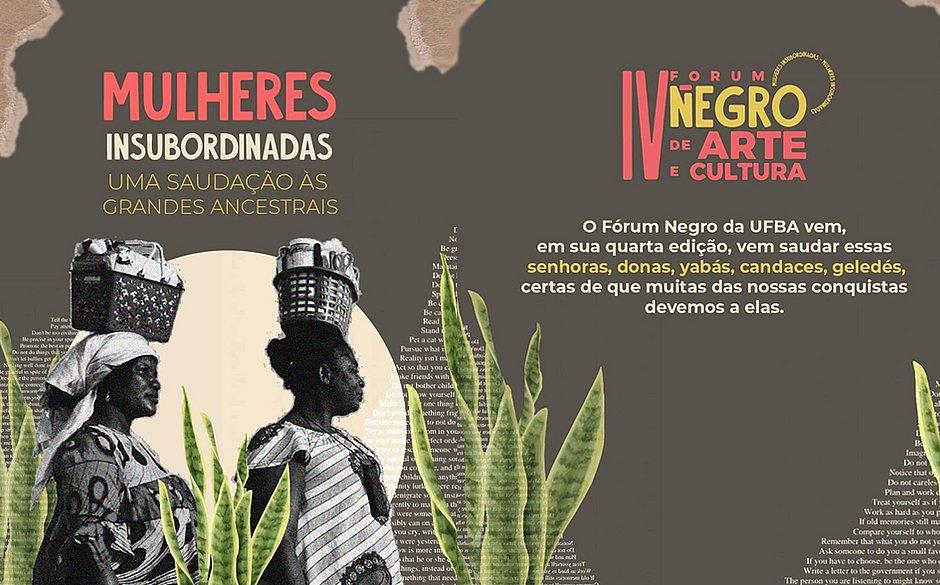 Quarto Fórum Negro de Arte e Cultura da Ufba fará homenagem às mulheres