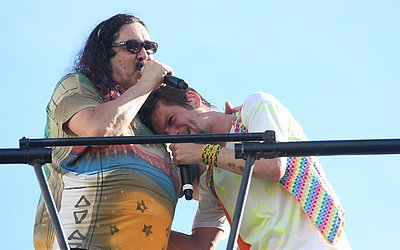 Moraes e Saulo no Carnaval 2010