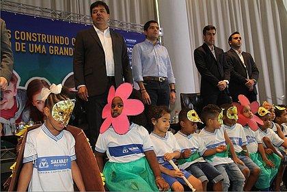Com parceria com MEC, prefeitura anuncia 1,37 mil novas vagas de creche em Salvador