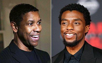 Doação anônima: Denzel Washington pagou estudos de Chadwick Boseman