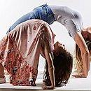 A profissional de educação física Leila Maia e sau filha, Lívia