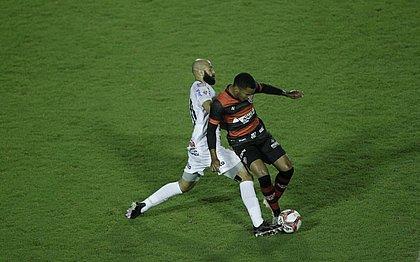 Vitória ficou no 0x0 com o Operário-PR no Barradão