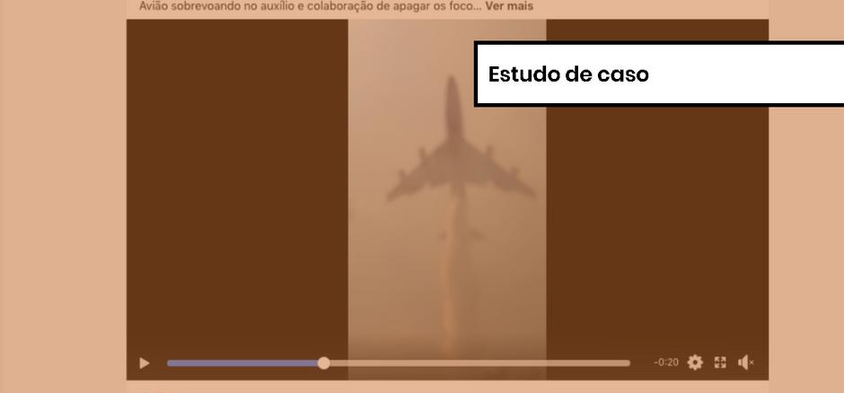 Comprova: avião não apagava fogo na Amazônia brasileira, mas na Bolívia; como verificamos
