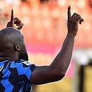 Lukaku abriu o placar para a Inter de Milão ainda no primeiro minuto