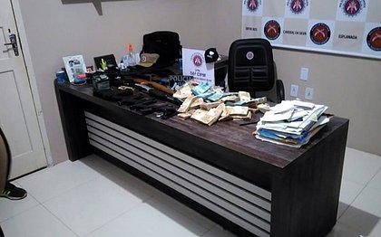 Operação apreende R$ 236 mil e prende duas pessoas envolvidas com crime eleitoral