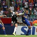 Fernandão entrou no segundo tempo do empate com o Atlético-MG
