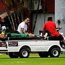 Martín lesionou-se no segundo tempo contra o Fortaleza