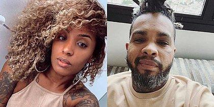 Nanah Damasceno diz que foi agredida pelo cantor Rodriguinho: 'Um lixo, abusador'