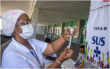 Vacinômetro: Bahia tem 1 milhão e 872 mil vacinados; 382 mil já com 2ª dose
