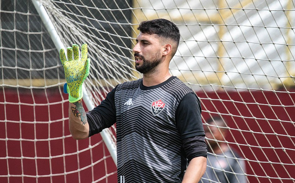 Martín Rodríguez vai desfalcar o Vitória contra o Botafogo-SP