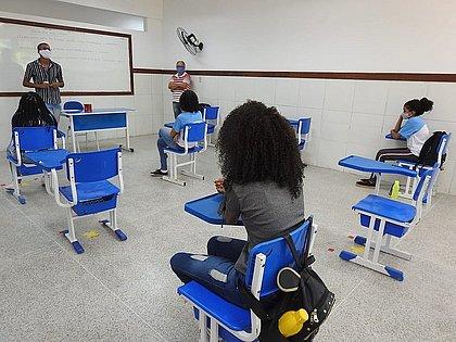 Aulas presenciais na rede estadual da Bahia voltam 26 de julho