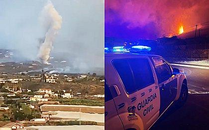 Nova boca de vulcão se abre e obriga mais evacuações nas Ilhas Canárias