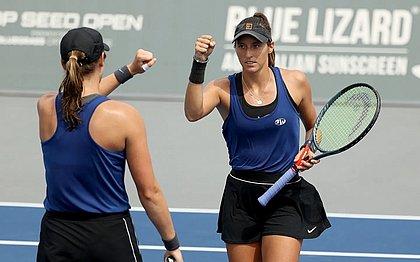 Luisa alcançou o 26º lugar no ranking geral das duplas do WTA