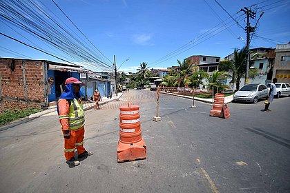 Requalificação da Estrada Velha do Aeroporto entra em fase final de obras