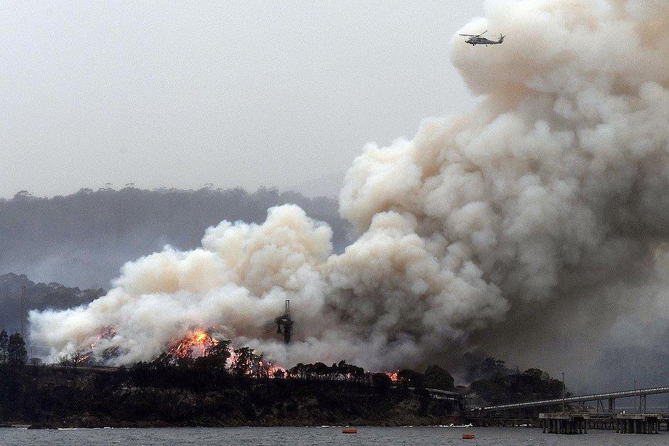Sobe para 29 total de mortos em incêndios na Austrália