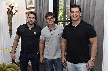 Marcello Zollinger, João Meirelles Neto e Steve Saback
