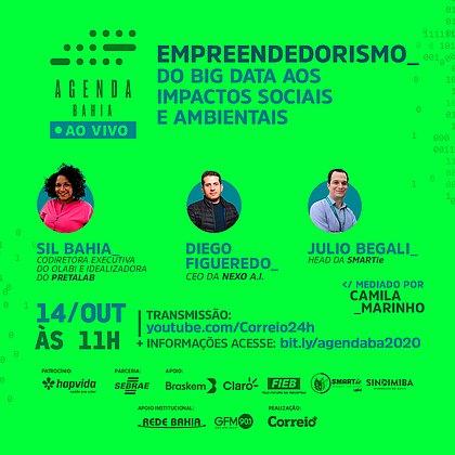 Agenda Bahia: Persistência e inteligência fazem toda a diferença