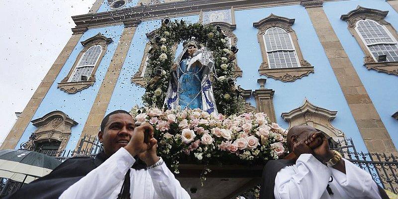 Igreja do Rosário dos Pretos acolhe a imagem da padroeira de Angola