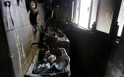 Apartamento no Cabula ficou completamente destruído por causa do fogo