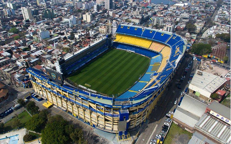 La Bombonera será o palco do jogo entre Boca Juniors e River Plate, na terça-feira (22), pela Libertadores