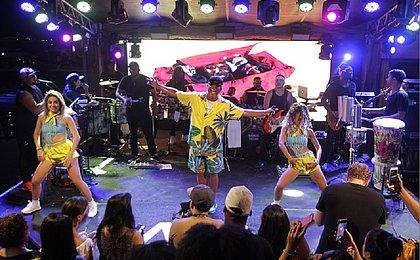 Psirico dá a partida para os ensaios de Verão que antecedem o Carnaval