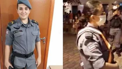 Policial é presa no MA por se recusar a fazer hora extra por precisar amamentar o filho