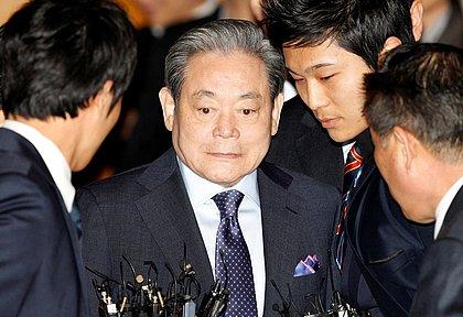 Morre o dono da Samsung, homem mais rico da Coreia do Sul