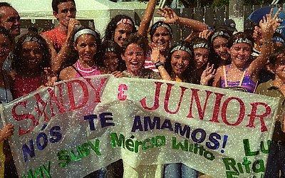 Auge: Em 2001, dupla cantou em Feira de Santana