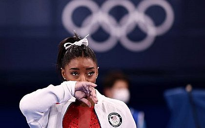 Machucada, Simone Biles ficou fora da final por equipes da ginástica