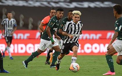 Final da Libertadores, entre Palmeiras e Santos, teve a presença de 5 mil convidados no Maracanã