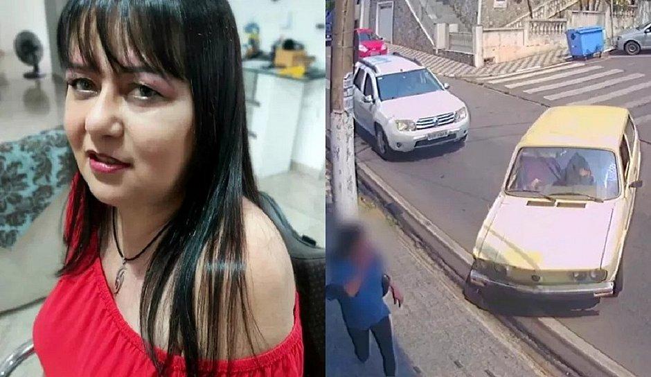 Mulher escapa da morte por um triz enquanto ia a banco fazer prova de vida