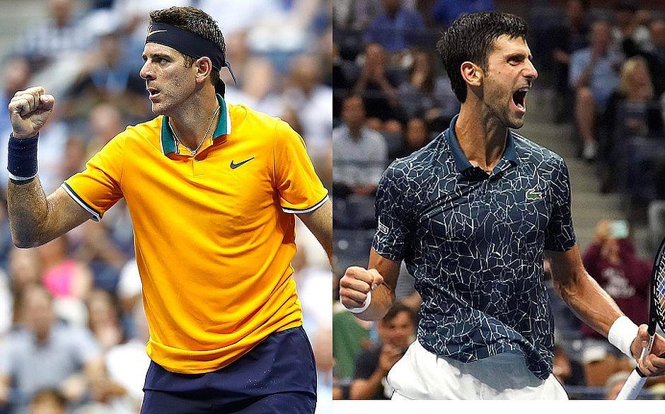 Del Potro e Djokovic se encontram na final do US Open neste domingo (9)