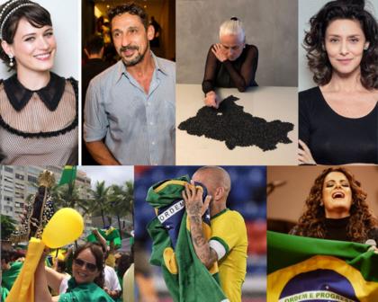 Dani Alves, Bianca Bin, Vera Holtz: famosos vão de críticas a apoios a atos com Bolsonaro
