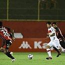 Pelo CRB, Léo Ceará enfrentou o Vitória e marcou gol