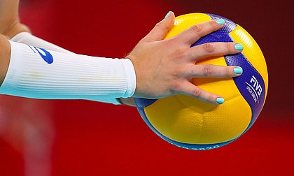 Seleção feminina de vôlei (Foto: COB)