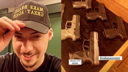 Jair Renan provoca CPI em loja de armas; senador pede convocação