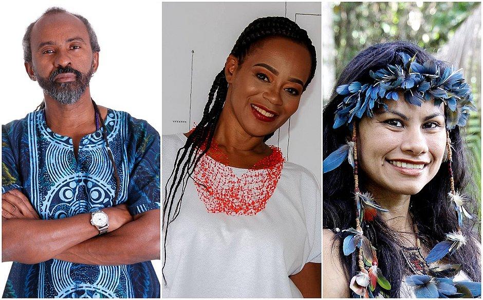 Lande Onawale, Eliane Alves Cruz e Márcia Wayna Kambeba integram a programação